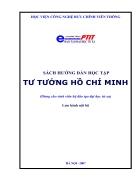 Tài liệu tư tưởng Hồ Chí Minh