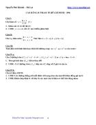 245 đề thi đại học cao đẳng