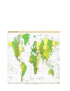Bản đồ thế giới Timezones