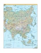 Bản đồ thế giới Asia