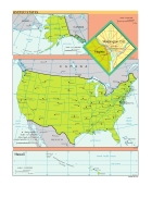 Bản đồ thế giới USA