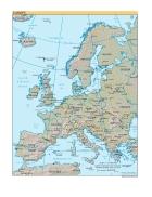 Bản đồ thế giới Europe