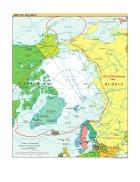 Bản đồ thế giới Arctic