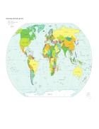 Bản đồ thế giới Political