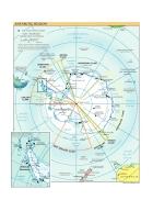 Bản đồ thế giới Antarctic