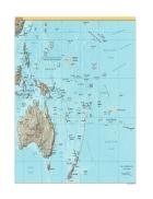 Bản đồ thế giới Oceania