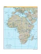 Bản đồ thế giới Africa