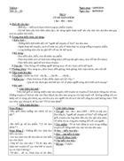 Giáo án ngữ văn 8 tuần 6 cktkn
