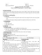 Giáo án Ngữ văn 11 theo chuẩn KT KN