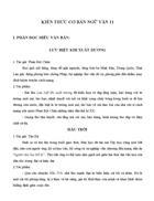 Kiến thức cơ bản Ngữ văn 11