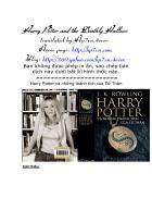 Sách Truyện Harry Potter Tập 7 End