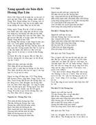 Các bản dịch Hoàng Hạc Lâu