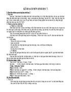 Kế hoạch sinh 7 chi tiết