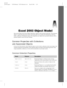 Excel 2003 Object