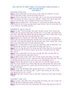 Câu hỏi ôn thi Triết phần 2 Thầy Bùi Văn Mưa