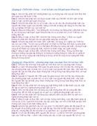 Câu hỏi ôn thi Triết phần 2 Thầy Bùi Văn Mưa 1