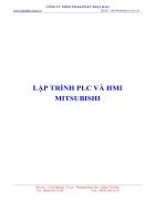 Lập trình HMI PLC mitsu