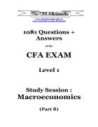 1081 câu hỏi trắc nghiệm tiếng anh tài chính kinh tế ngân hàng Đáp án CFA lv1