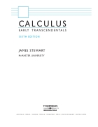Calculus Early Transcendentals 6th edition by James Steward