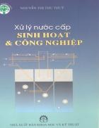 Giáo trình xử lý nước cấp sinh hoạt và công nghiệp Nguyễn Thị Thu Thủy