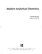 Modern Analytic Chemistry
