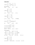 Bài tập đại số tuyến tính