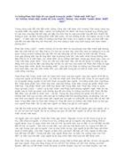Tư tưởng Phan Bội Châu về con người trong tác phẩm Nhân sinh triết học