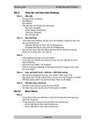 Tin học căn bản Bài tập thực hành Windows