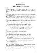 Bài tập phương pháp tính 2 1