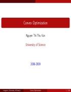 Tài liệu về optimization
