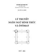 Giáo trình Lý thuyết ngôn ngữ hình thức và Otômat