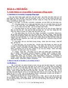 Ngôn ngữ lập trình Assembly