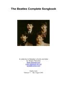 Bộ sưu tập tất cả lời bài hát của The Beatles