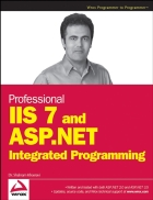 Professional iis 7 and asp net integrated programming
