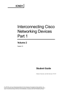 Interconnecting Cisco Networking Devices Volume 2