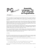 Assembly Language the true language of programmers