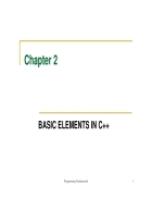Basic elements in c