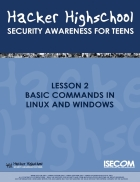 Basic commands in linux and windows