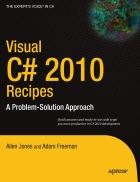 Visual C 2010 Recipes A Problem Solution Approach