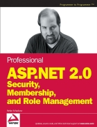 Professional ASP NET 2 0 Security Membership and Role Management