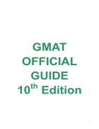 Gmat Official Guide 10Th Edition