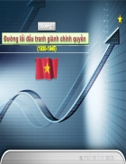 Giáo trình môn Đường lối CM ĐCS Việt Nam Lịch sử Đảng 1
