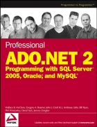 Professional ADO NET 2 Programming with SQL Server 2005 Oracle and MySQL