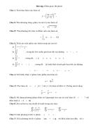 Một số bài tập môn Giải tích 1