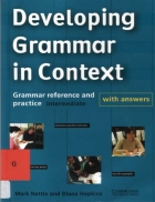 Nettle Devoloping Grammar in Context with Answers BW Cambridge