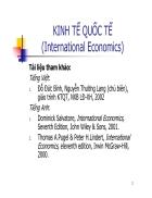 Kinh tế quốc tế