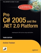 Pro C Sharp 2005 And The Net 2 0 Platform
