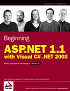 Beginning Asp Net 1 1 With Visual C Sharp Net 2003
