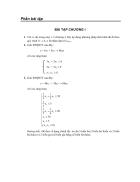 Bài tập toán ứng dụng