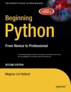 Beginning Python From Novice to Professional